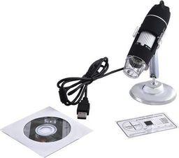 Mikroskop ISO Mikroskop cyfrowy usb 8led powiększenie x500 lupa uniwersalny