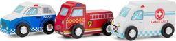 New Classic Toys New Classic Toys - Zestaw 3 drewnianych pojazdów uniwersalny