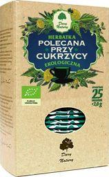 Arkana Smaku Herbatka Polecana Przy Cukrzycy Bio (25 x 2 g) - Dary Natury