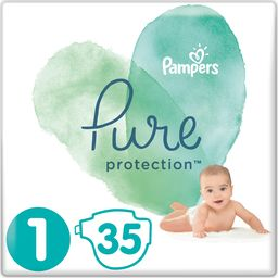 Pampers Pieluchy jednorazowe Pure Protection r. 1 35 szt.