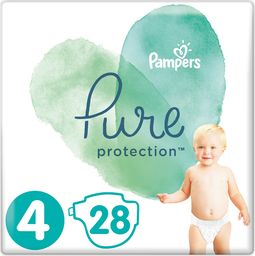 Pampers Pieluchy jednorazowe Pure Protection r. 4 28szt.