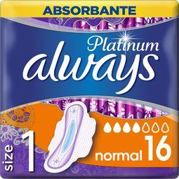 Always Higieniniai paketai Always Platinum Normal 16 vnt