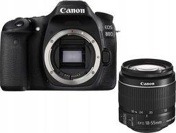Lustrzanka Canon EOS 80D + 18-55mm