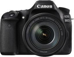 Lustrzanka Canon EOS 80D + 18-135mm