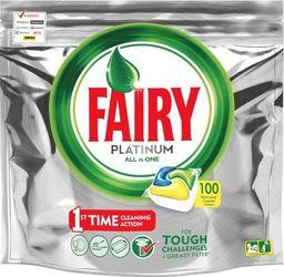 Fairy Tabletki do zmywarki Fairy All in One 100 szt Lemo