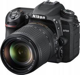 Lustrzanka Nikon D7500 + 18-140mm