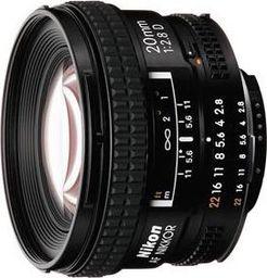 Obiektyw Nikon Nikkor AF 20mm f/2.8D