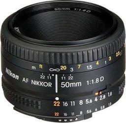 Obiektyw Nikon Nikkor AF 50 mm f/1.8 D