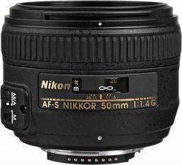 Obiektyw Nikon Nikkor AF-S 50 mm f/1.4 G
