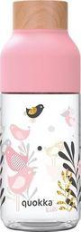 QUOKKA Butelka na wodę różowa
