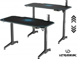 Biurko Ultradesk Level niebieskie (UDESK-LVA-BL)