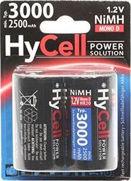 Hycell HyCell Battery Mono D Type 3000 mAh 1.2V 2er - nickel