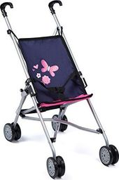 Bayer Design Bayer Design doll buggy, doll carriage (dark blue / pink)