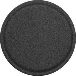 Uchwyt Hurtel Metal Iron Plate samoprzylepna metalowa płytka w skórzanej nakładce dla uchwytów magnetycznych 40 mm czarny