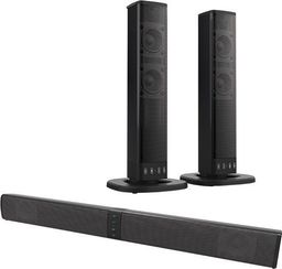 Soundbar Xoro Xoro HSB sound bar 55, speaker (black, 2-in-1, Bluetooth, pawl TWS)