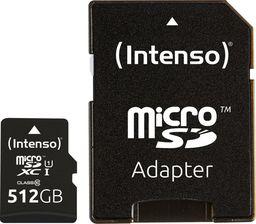 Karta Intenso Premium MicroSD 512 GB Class 10 UHS-I/U1  (3423493)