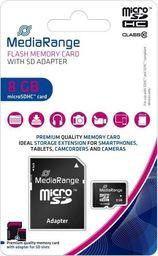 Karta MediaRange MR957 MicroSD 8 GB Class 10  (MR957)