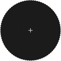 vidaXL Mata do trampoliny 4,57 m, czarna, okrągła