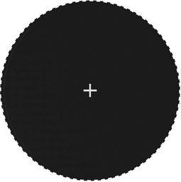 vidaXL Mata do skakania do trampoliny 4,27 m, czarna, okrągła