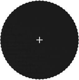 vidaXL Mata do skakania do trampoliny 3,96 m, czarna, okrągła