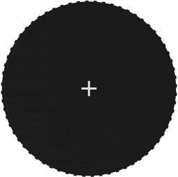 vidaXL Mata do skakania do trampoliny 3,66 m, czarna, okrągła