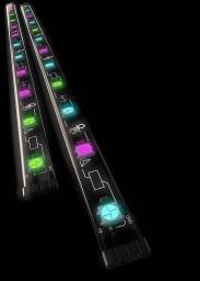 Evnbetter Paski LED xcd 1.02 baseline 45 + Kontroler # 1:01 light control (EBL0001)