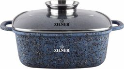 ZILNER BRYTFANNA / GARNEK MARMUROWY 4.4L 24cm ZILNER BLUE ZL-7096