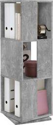 FMD FMD Obrotowa szafka na dokumenty, 34 x 34 x 108 cm, kolor betonu
