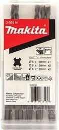 Zestaw wierteł Makita Makita SDS + Drill Set D-58914 5 pcs.