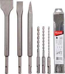Zestaw wierteł Makita Makita SDS + drill / chisel set 6pcs - D-58920