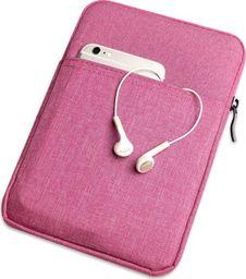 Etui do tabletu Etui pokrowiec miękki uniwersalny na tablet do 9,7 cali różowe uniwersalny