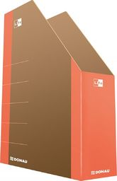 Donau Pojemnik na dokumenty DONAU Life, karton, A4, pomarańczowy