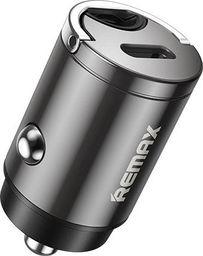 Ładowarka Remax Remax mini inteligentna ładowarka samochodowa USB Typ C 18W Power Delivery PD czarny (RCC228 black)
