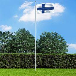 vidaXL Flaga Finlandii, 90x150 cm