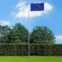 vidaXL Flaga Europy, 90 x 150 cm
