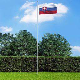 vidaXL Flaga Słowacji, 90x150 cm