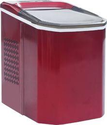 Kostkarka do lodu vidaXL Kostkarka do lodu, czerwona, 1,4 L, 15 kg/24 h