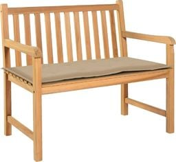 vidaXL Poduszka na ławkę ogrodową, beżowa, 100 x 50 x 3 cm