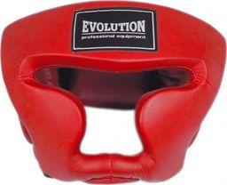 Evolution Kask bokserski Evolution treningowy czerwony OG-230
