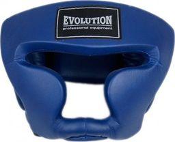 Evolution Kask bokserski Evolution treningowy niebieski OG-230