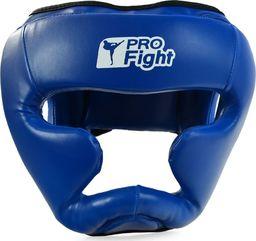Profight Kask bokserski Profight 705 PU niebieski senior