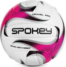 Spokey Piłka siatkowa Spokey Gravel Pro różowa 927520