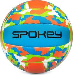 Spokey Piłka siatkowa Spokey Malibu zielono-niebiesko-pomarańczowa 927682