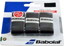 BABOLAT Owijka Babolat Pro Tour X3 czarne 3szt 138758