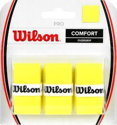 Wilson Owijka Wilson Pro Comfort Overgrip żółta 3szt WRZ4014YE