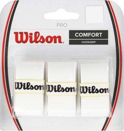 Wilson Owijka Wilson Pro Comfort Overgrip biała 3szt WRZ4014WH