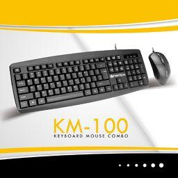 Klawiatura + mysz Fantech KM-100 (AKMFKM-1001200)