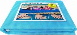 QL Mata na plażę sand free mat 200x200 niebieska