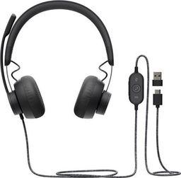 Słuchawki z mikrofonem Logitech Zone Teams (981-000870)