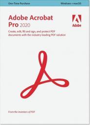 Adobe Acrobat Pro 2020 PL Multiple Platform (65310793)